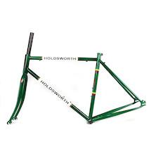 Holdsworth La Quelda Steel Single Speed Frameset / Medium / British Racing Green / With Cosmetic Damage
