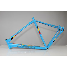Planet X XLA Alloy Cyclocross Frame / With FSA C-40 Headset / Large / Belgium Blue / Dented Headtube