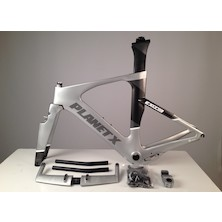 Planet X Exo3 Carbon TT Frameset / Small / Silver Shadow / Missing Parts