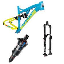 Titus El Viajero Gravity-Trail 27.5 Frame + Rear Shock and Fork