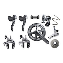 Planet X EC-130E Rivet Rider Ultegra Silver Shadow Only Special Build Bike Kit