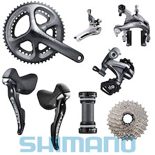 Shimano Ultegra Groupset Medium Cage 11-32 Cassette 50/34 Chainset