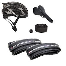 Comfy And Fast Helmet And Premium Contact Point Bundle