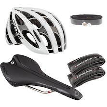 Go Very Fast Helmet And Contact Point Bundle