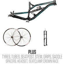 ON-One S36 Rolling Chassis Frame Bundle