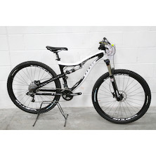 0083 - Titus Rockstar Sram X5 Carbon Mountain Bike Medium  Black With White Decal - New - Barnsley