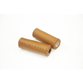 "San Marco Flat Handlebar Grip SKY Honey Brown 80MM SER.""G""BIA"