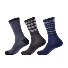 Solax Mens Merino Socks Assorted 3 Pack