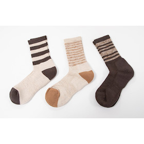 Solax Womens Merino Socks Assorted 3 Pack