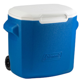 Coleman Performance Wheeled 16QT Blue