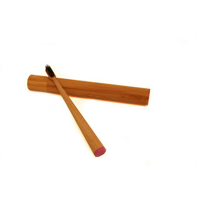 PODSCAS Bamboo Toothbrush And Case