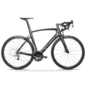 Planet X EC-130E SRAM Force22 Aero Road Bike / Medium / Dark Knight