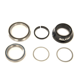 Selcof Integrated Cup Alloy Headset For Tapered 45mm/52mm OD Head Tube