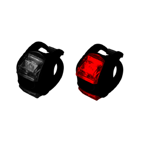 Jobsworth Strap On 2-Way Lightset / Black