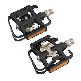 Barbieri Alloy Black Double Function Pedals