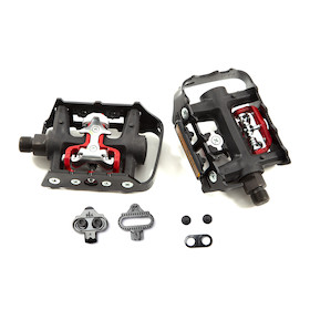 Wellgo WPD-982 Double Sided Platform / SPD Clipless Pedals