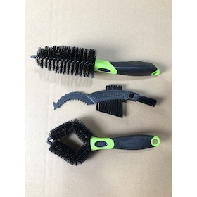 Jobsworth Triple Brush Set