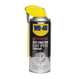 WD-40 Specialist Anti Friction Dry PTFE Lubricant 400ml