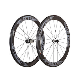 Selcof Delta 11spd 56mm  Carbon Clincher Wheelset/ Tubeless Tyre Compatible