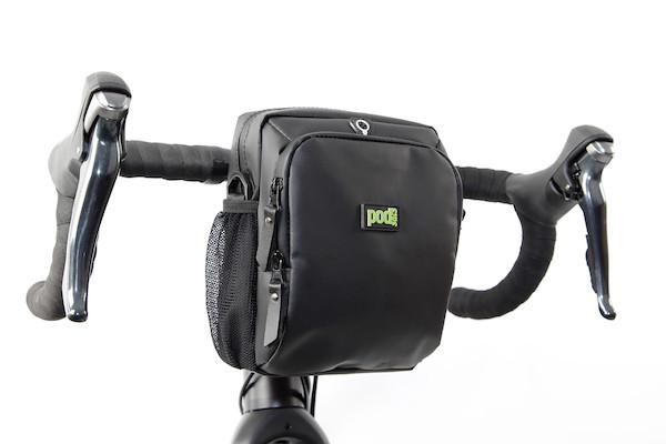 PODSACS Bike-n-Hike Handlebar-Shoulder Bag With Waterproof Cover   Travel bags