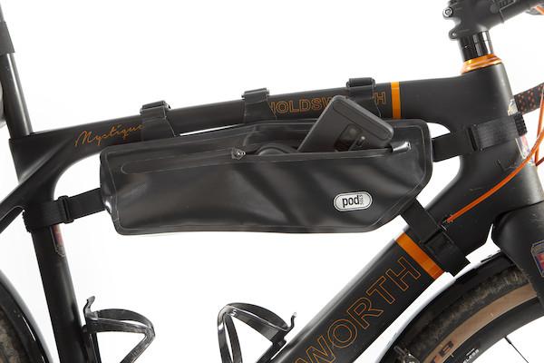 PODSACS 6 Point Waterproof Frame Bag / Black | Frame bags