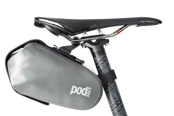 PODSACS Daytripper Waterproof Saddle Bag With QR Clamp   Saddle bags