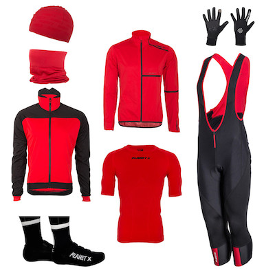 Pro Spring Kit  Bib-Knickers And Long Sleeve Jersey Bundle