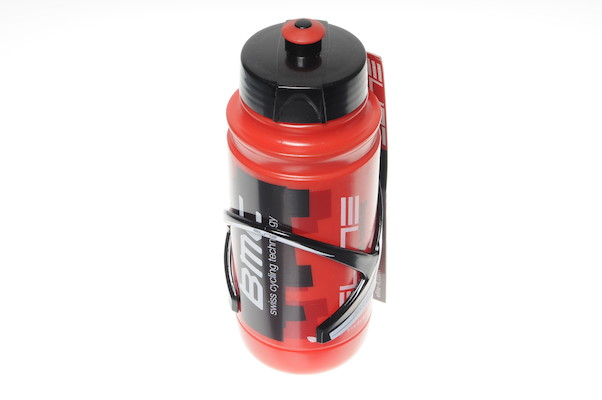 Elite Sior Bottle Cage with 550ml Team Water Bottle