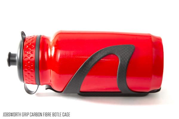 Jobsworth Grip Carbon Cage 3K Matte Black | Handles