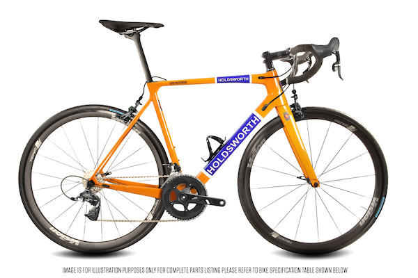 Holdsworth Super Professional Barry White Edition | Groupsets