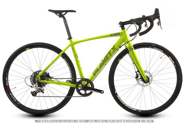 Planet X London Road SRAM Rival 1 Hydraulic Disc Road Bike | City-cykler