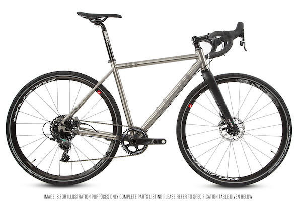Planet X Tempest SRAM Force 1 Titanium Gravel Bike | Cross-cykler