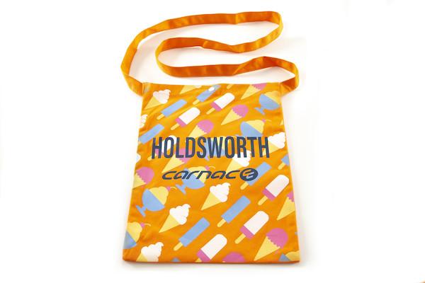 Holdsworth Orange Ice Cream Edition Travel Cotton Tote Bag | Travel bags