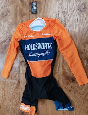 Holdsworth Pro Cycling Professional Long Sleeve Speed Suit | swim_clothes