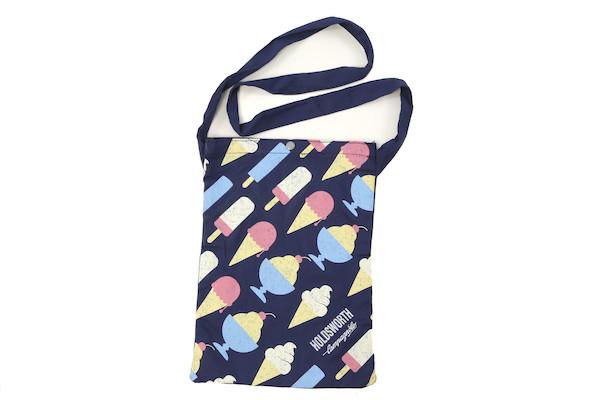 Holdsworth Blue Ice Cream Canvas Beach Bag | Løbesko