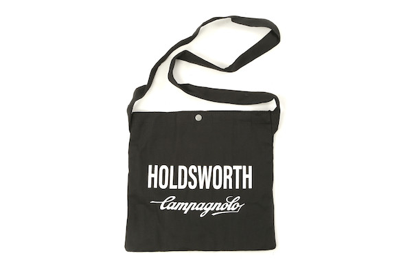 Holdsworth Team Edition Black Race Canvas Musette | Travel bags