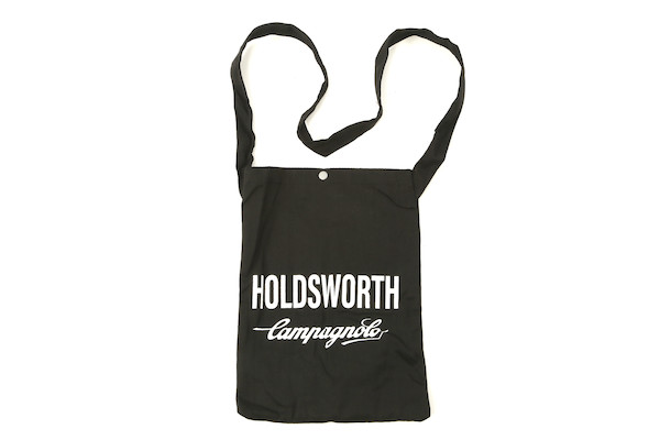 Holdsworth Team Edition Black Travel Canvas Tote Bag | Travel bags