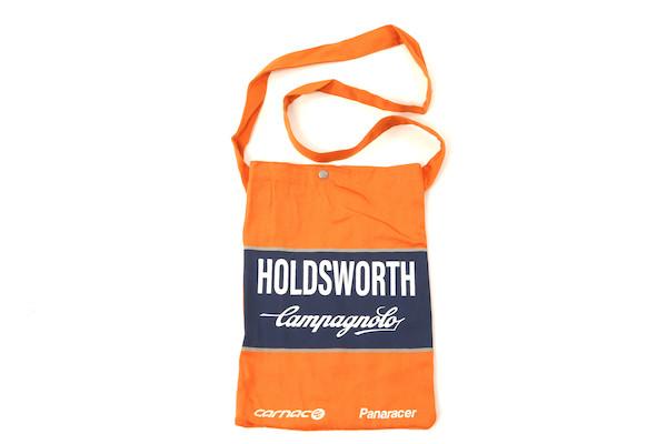 Holdsworth Team Edition Orange & Blue Canvas Beach Bag | Travel bags