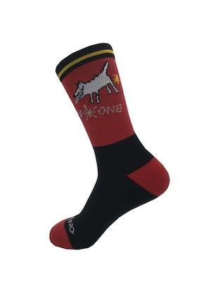 On-One Mom Dog High Top Cycling Socks   Socks