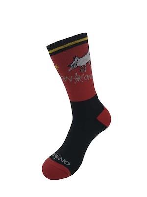 On-One Mom Dog High Top Thicky Merino Cycling Socks   Socks