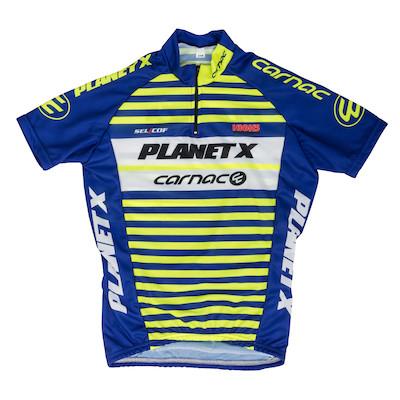Planet X Team Carnac Childrens Short Sleeved Jersey | Trøjer