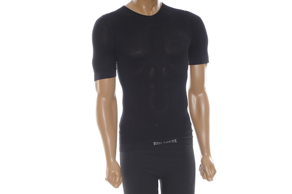 Red Level Short Sleeved Mesh Base Layer