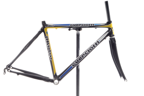 Guerciotti Khaybar Frame And Carbon 3K Fork Blue And Yellow  Small