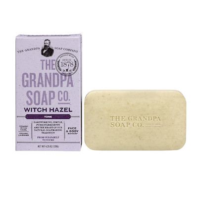 The Grandpa Soap Co Witch Hazel Soap Bar | Planet X