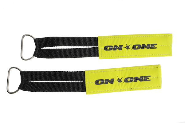 On-One Fixie Footstraps Reflective