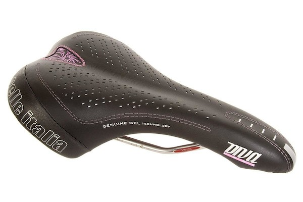Selle Italia Diva Genuine Gel Ladies Saddle