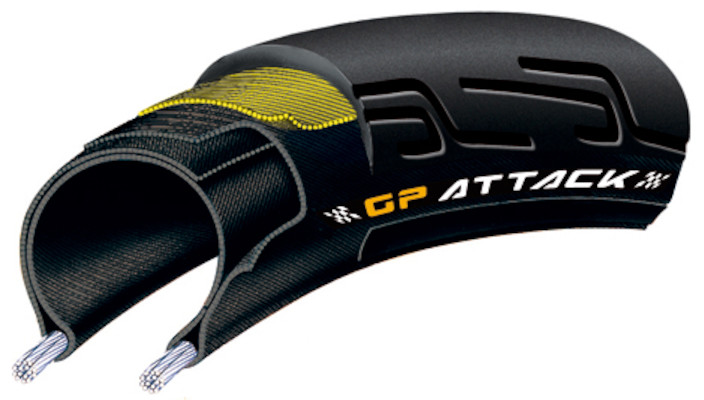 Continental Grand Prix Attack Folding Tyre