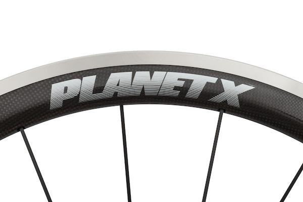 Planet X CT45 Carbon Clincher Wheelset