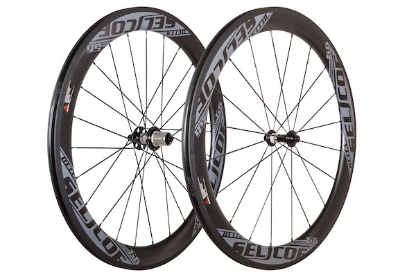 Selcof Delta 11spd 56mm Carbon Clincher Wheelset/ Tubeless Tyre Compatible | Hjul