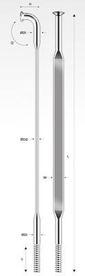 Pillar Aero Spoke | Spokes